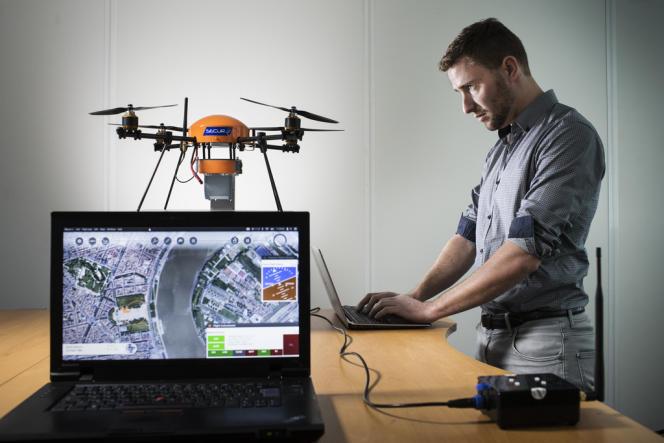 Fly-n-Sense développe des drones à usage industriel ou sécuritaire à Mérignac.