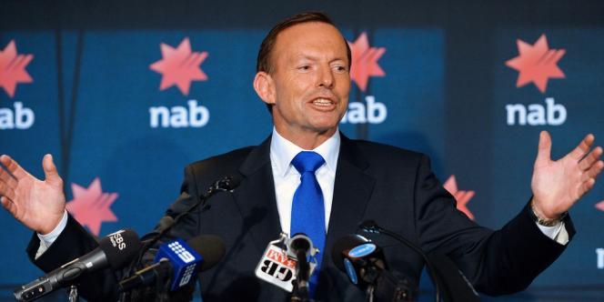 Le premier ministre australien, Tony Abbott, à Sydney le 20 février.