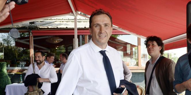 Vincent Feltesse, le 6 juin 2013 à Bordeaux.