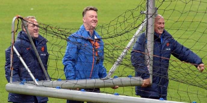 Louis van Gaal, le 4 mars au Stade de France.