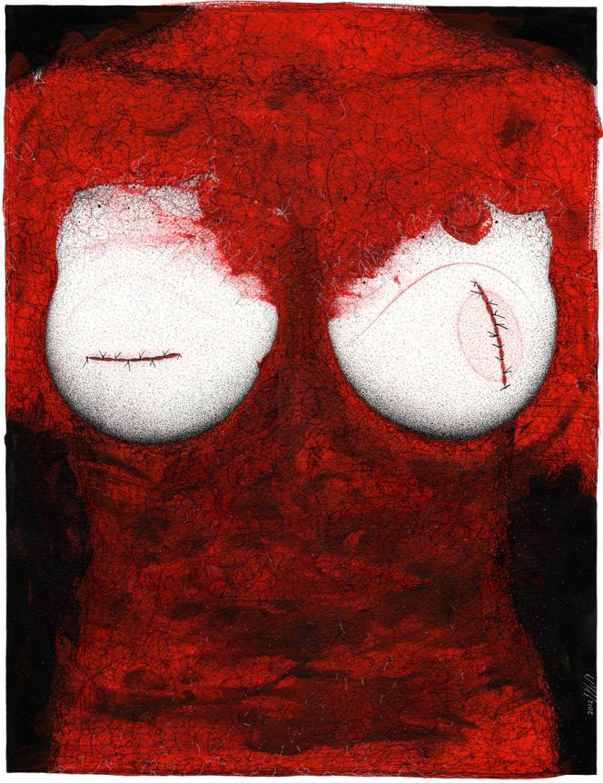 L'œuvre de l'artiste syrien Khalil Tounès,
