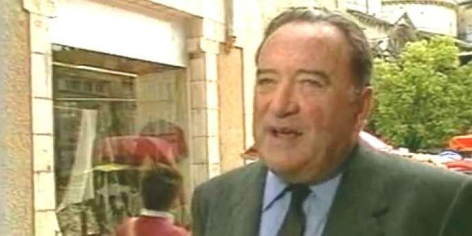 Maurice Faure en 1985