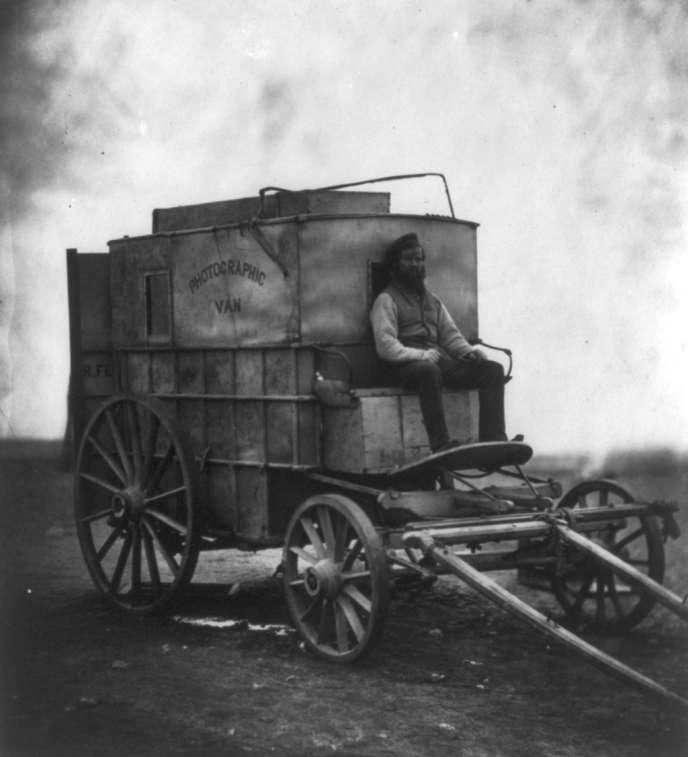 « Photographic Van » de Roger Fenton.