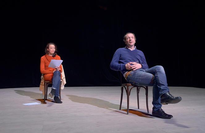 Marie Desgranges et Antoine Mathieu dans