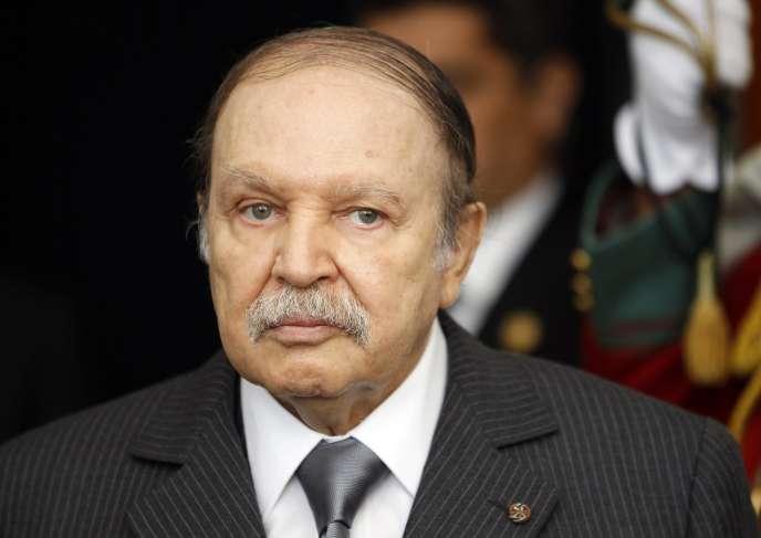 Le président algérien Abdelaziz Bouteflika en décembre 2011.