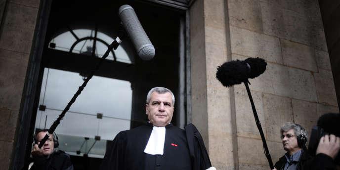 L'avocat de Nicolas Sarkozy, Me Thierry Herzog, en 2009.