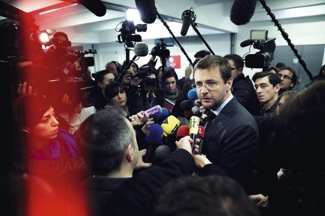 S'il assume pour l'instant son rôle de bras droit de Jean-François Copé, Jérôme Lavrilleux sera tête de liste aux européennes en juin face à Marine Le Pen, dans la circonscription nord-ouest. Photo: Christophe Morin / IP3