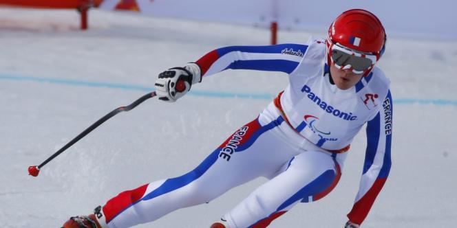 Marie Bochet a remporté deux médailles d'or en trois jours de compétition aux jeux paralympiques de Sotchi.