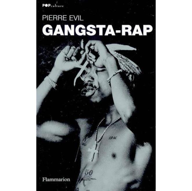 Le rappeur américain Tupac, en couverture du livre