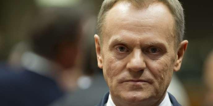 Le premier ministre de la Pologne, Donald Tusk, le 6mars.