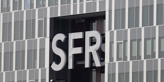 Le siège de SFR à Saint-Denis (Seine-Saint-Denis), le 7 mars.