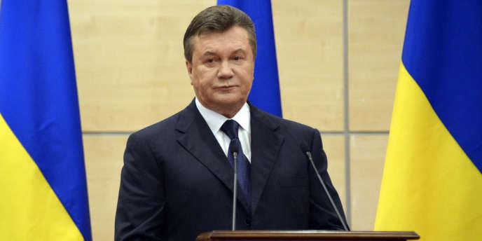 Viktor Ianoukovitch, le 11mars2014.