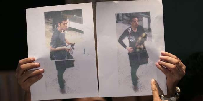La police de Thaïlande, pays où les documents d'identité avaient été dérobés, pense elle aussi que les deux hommes qui voyageaient avec des passeports volés à bord du Boeing 777 n'avaient rien à voir avec le terrorisme.