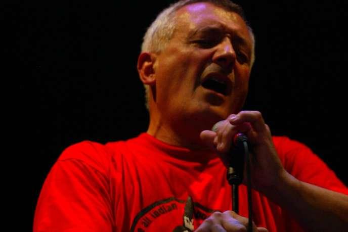 Le chanteur basque, Beñat Achiary, aux voix multiples.