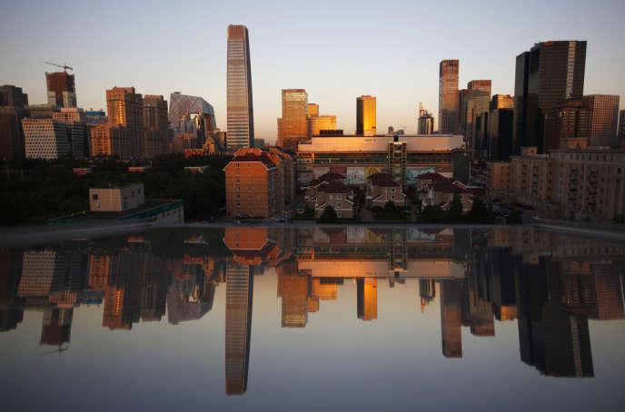Le quartier des affaires de Pékin, en septembre 2012.