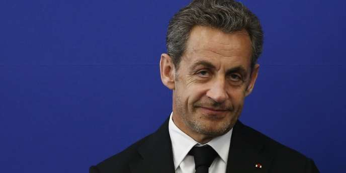 Nicolas Sarkozy, le 10mars à Nice.