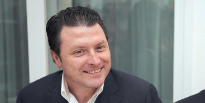Eric Dillies, candidat FN à la Mairie de Lille.