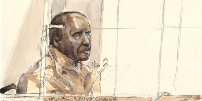 Pascal Simbikangwa est le premier Rwandais jugé en France en lien avec le génocide.