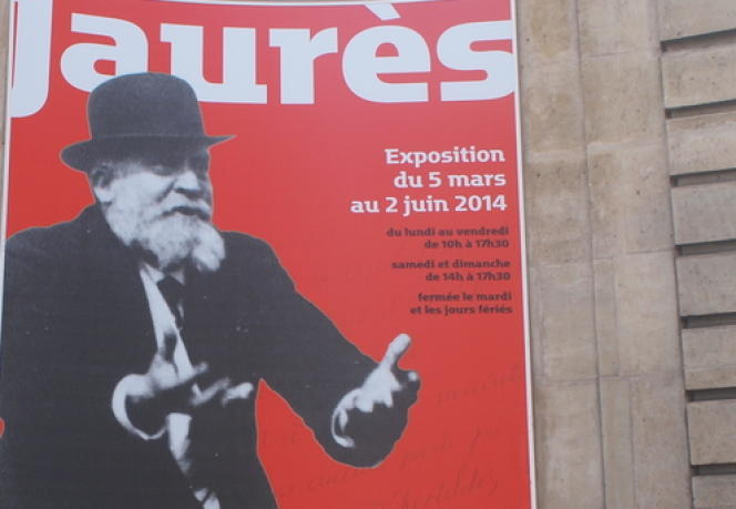 Exposition Jaurès aux Archives nationales à Paris.