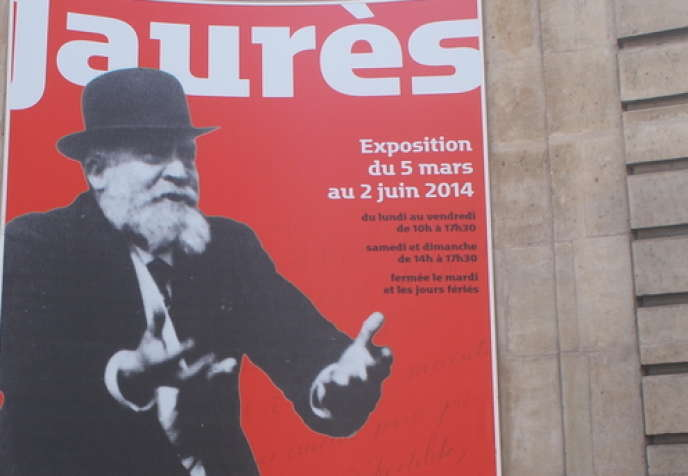 Exposition Jaurès aux Archives nationales à Paris.