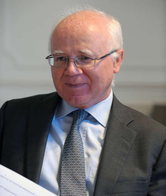 Bruno Lasserre, président de l'Autorité de la concurrence, le 11 janvier.