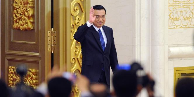 Le chef du gouvernement chinois Li Keqiang, le 13 mars.