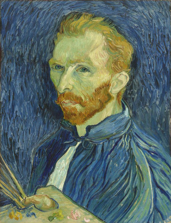 Custy. Vincent van Gogh (1853-1890) . Portrait de l'artiste, Saint-Rémy-de-Provence, août-septembre 1889. Huile sur toile, 57,79 x 44,5 cm  Washington, The National Gallery of Art, Collection de M. et Mme John Hay Whitney