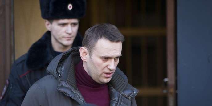 Alexeï Navalny en février à Moscou.