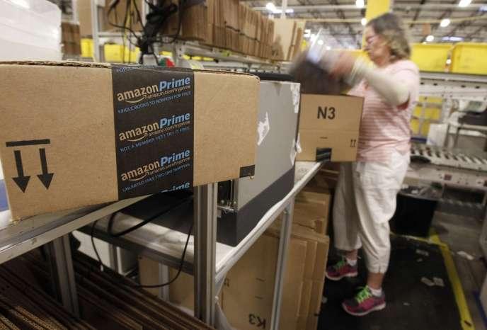 Un centre de distribution d'Amazon à Phoenix (Arizona) en novembre 2013.