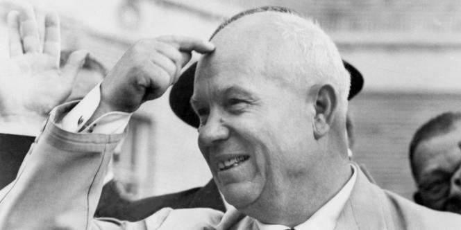 Nikita Kroutchev, lors d'une visite à San Francisco, en septembre 1959.