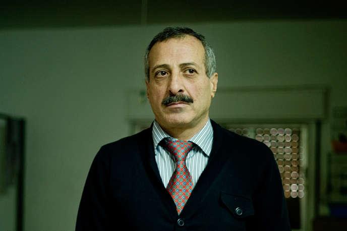 L'ancien général de brigade Ahmed Tlass, aujourd'hui réfugié à Amman.