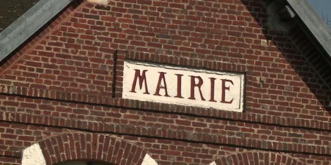La mairie de Misery (Somme).