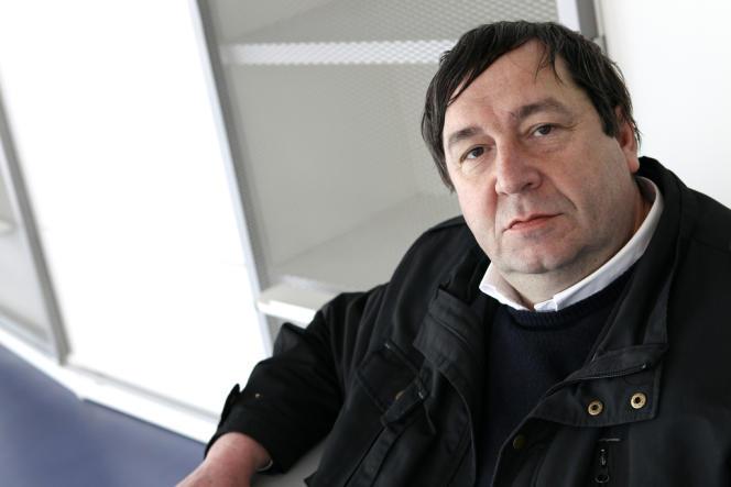 François Le Pillouër, directeur du Théâtre national de bratagne de Rennes, en2010.