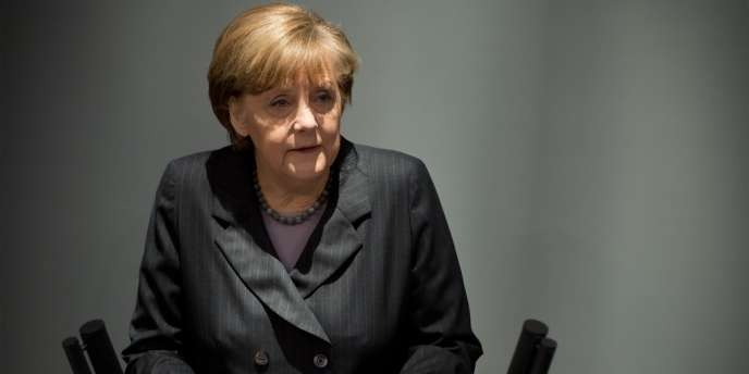 Angela Merkel, le 13 mars à Berlin.