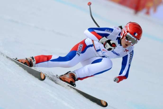 la Savoyarde de 20 ans a décroché 4 des 5 médailles d'or de l'équipe de France paralympique, qui va quitter Sotchi avec 12 breloques au total, en ajoutant 4 argent et 3 bronze.