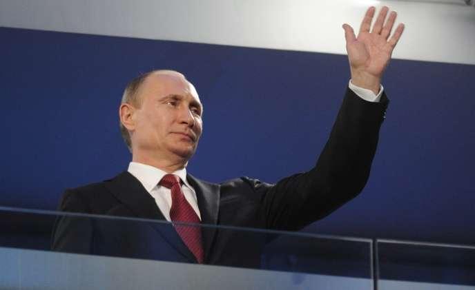 Le président russe Vladimir Poutine, le 16 mars dernier.