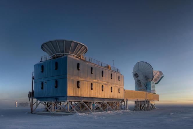 Le téléscope BICEP2, à l'origine des observations des premiers instants de l'univers.