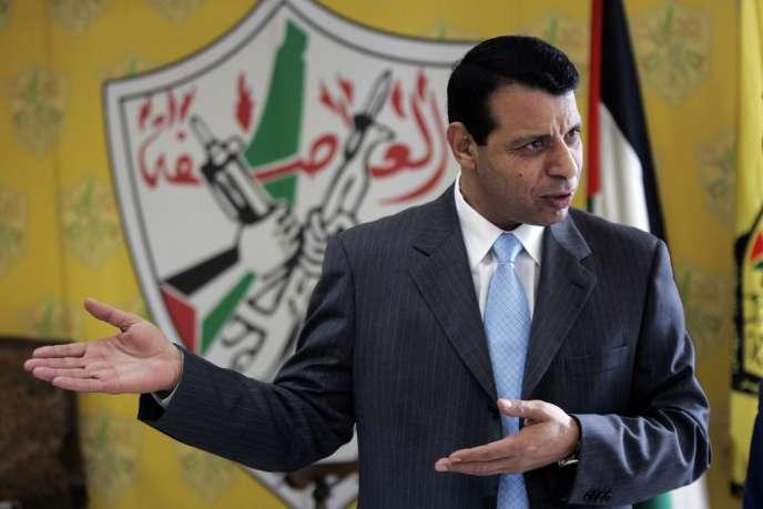 Mohammed Dahlan, le 3 janvier 2011 à Ramallah.