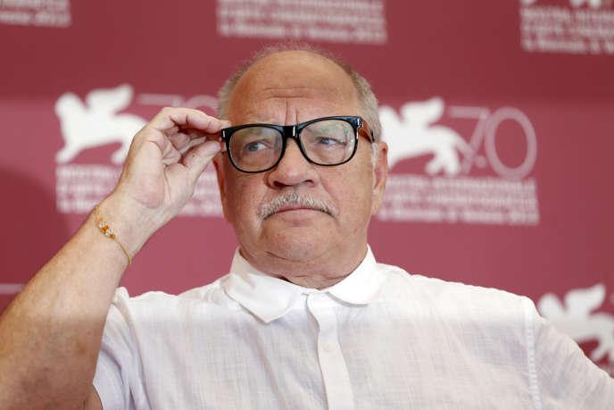 Le réalisateur américain Paul Schrader lors d'une conférence de presse à la 70e Mostra de Venise, le 30 août 2013.
