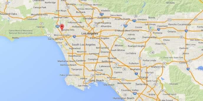 L'épicentre de la secousse était situé à quelques kilomètres d'Hollywood.