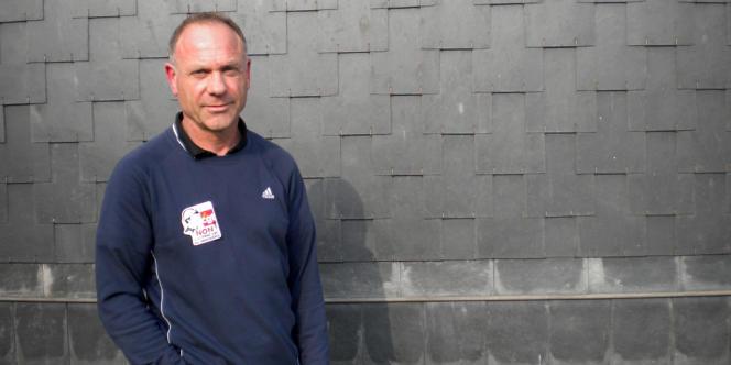 Hervé Sabba, délégué CGT aux Ardoisières d'Angers.