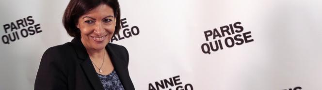 Anne Hidalgo, lors d'une conférence de presse, le 16mars.