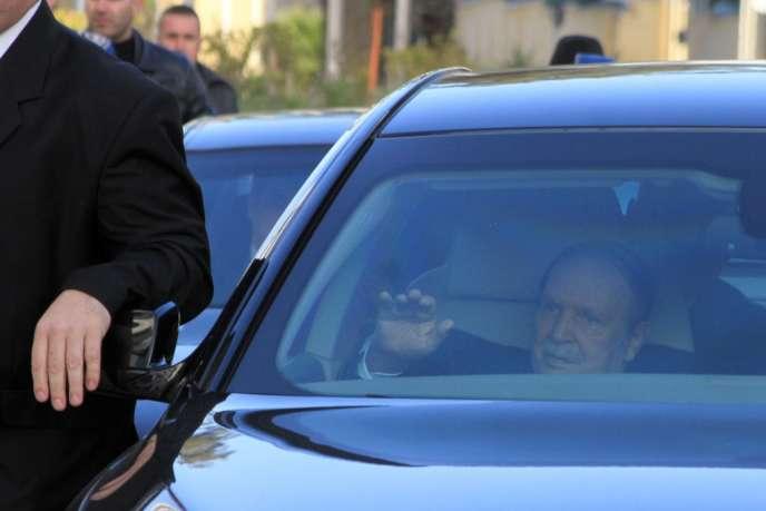 Le président algérien Abdelaziz Bouteflika, à Alger, le 3 mars.