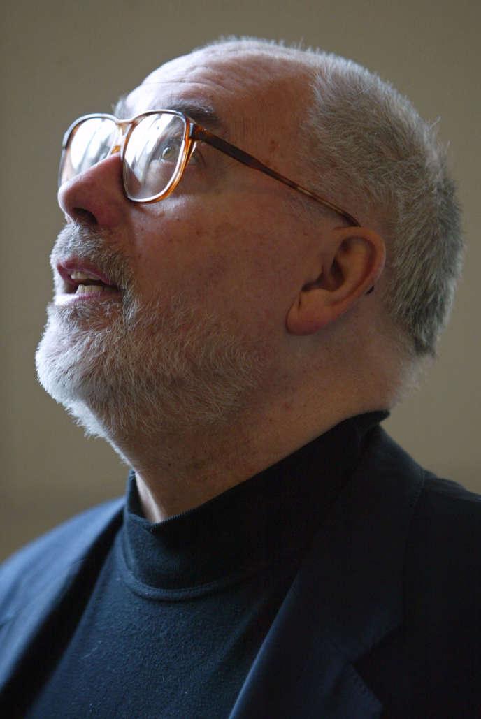 L'ancien secrétaire général de Force ouvrière Marc Blondel, le 26janvier2004 à Paris.