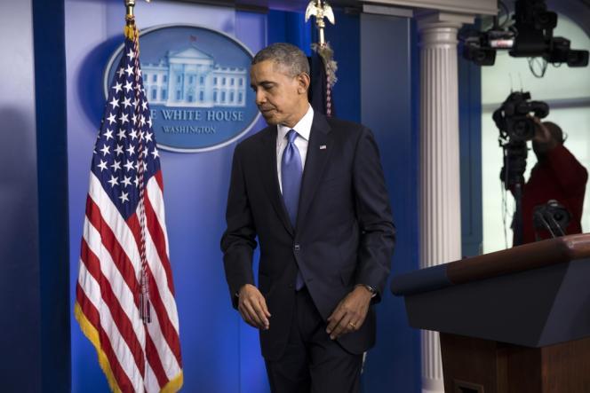 Barack Obama, le 17 mars à Washington.