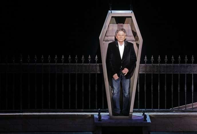 Roman Polanski lors de la conférence de presse de lancement du