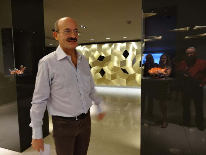 Salim Eddé au MIM, à Bayrouth.