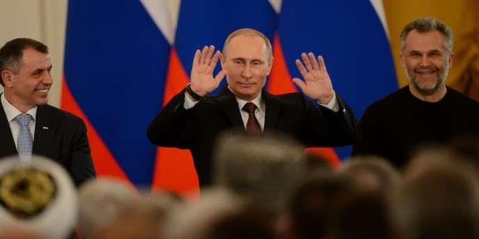 Poutine : « Nous n'aurions pas pu abandonner la Crimée »