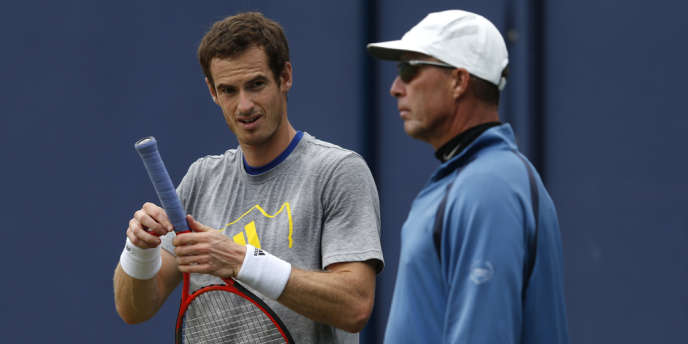 Andy Murray avait embauché en 2012 l'ancienne gloire Ivan Lendl, ici le 11 juin 2013 à Londres, pour atteindre son Graal : un tournoi du Grand Chelem.