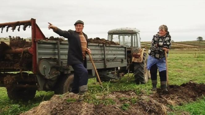 Une scène du film documentaire polonais et français de Lech Kowalski,